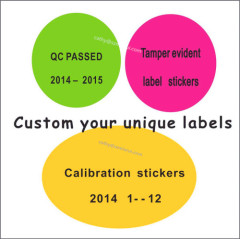 Cheap custom printed eggshell sticker with uv ink