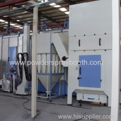 Cyclone Recovery System for Powder Coating Booths