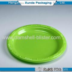 Plastic disposable plate whosale