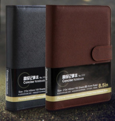 Work Business Magnetic Snap Journal Notebook