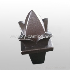 flower shape carbon steel silica sol