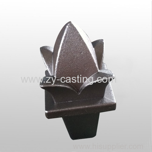 flower shape carbon steel silica sol casting