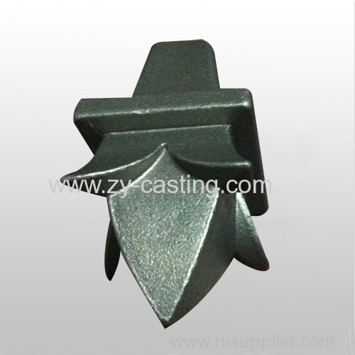 flower shape carbon steel silica sol casting
