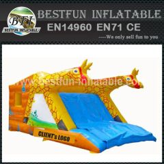 TWO GIRAFFE INFLATABLE COMBO