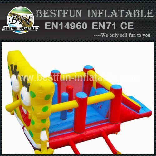 PVC Spongebob Inflatable Bounce House