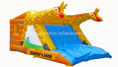 Giraffe Painting Inflatable Combo for Kids Game