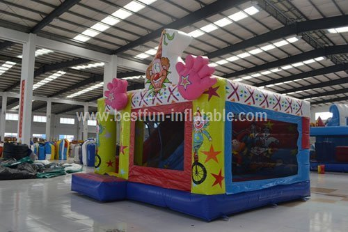 Inflatable sports combo inflatable clown bouncy