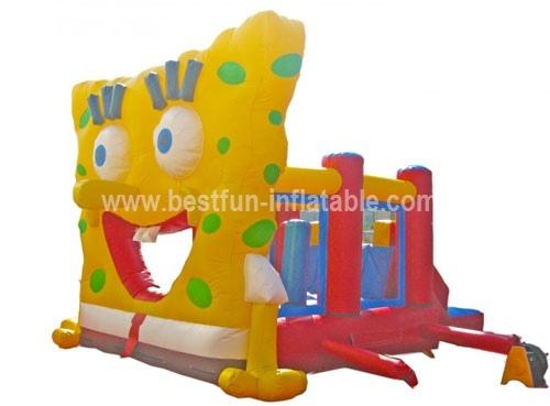Popular inflatable SpongeBob bounce house bounce