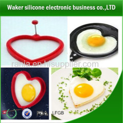 silicone egg rings/silicone fried egg rings molds