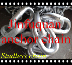 welded studless anchor chain
