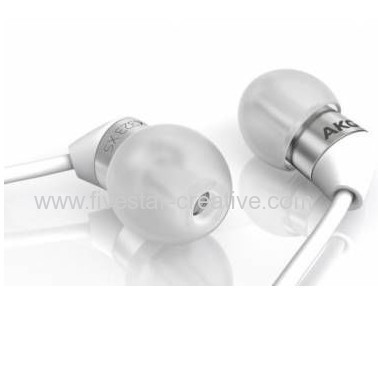 AKG K323XS Ultra-Small In Ear Headphones with the Greatest Sound white