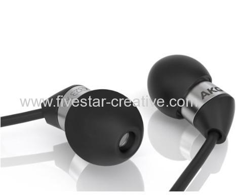 AKG K323 XS Ultra Compact Earbuds Stereo In-Ear Headphones Black