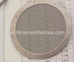 stainless steel coffee machine wire mesh dics;wire mesh filter for coffee machine