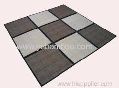 bamboo patchwork carpet (9blocks)