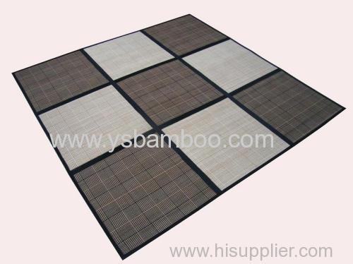 bamboo patchwork carpet (9blocks)