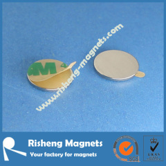 D10 x 1mm mag tab adhesive backed magnes