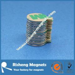 D12 x 1mm magtab self adhesive backed magnets