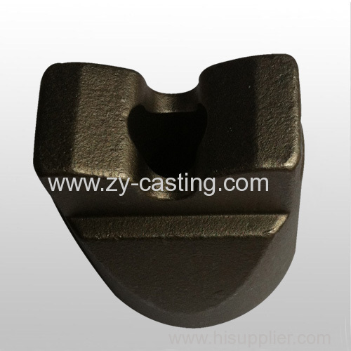 high chromium drill carbon steel silica sol casting