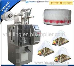DXDK-100SJ Pyramid Bulk Tea Pouch Automatic Packaging Machine