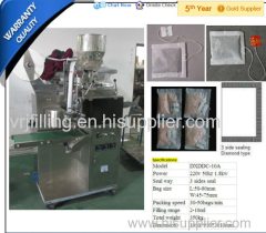 DXDDC-10A small tea bag packing machine with line and label