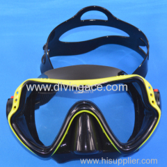 Snorkel masks single lens snorkel mask frameless snorkel mask GoPro scuba dive mask