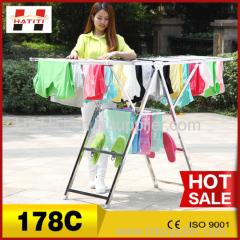 metal cloth hanger stand