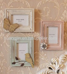 countryside classical wood photo frame