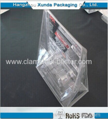 Plastic toy packaging box