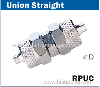 Rapid Fittings -------Union Straight