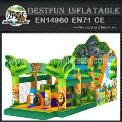 SLIDE SAFARI PARK INFLATABLE