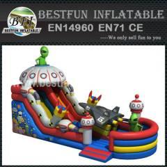 PVC Inflatable Slide Mars