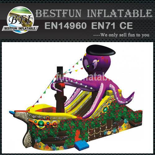 INFLATABLE PIRATES SHIP OCTOPUS