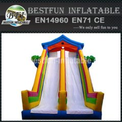 INDLATABLE SLIDE CLIMBING WALL