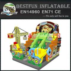 TOWN CONSTRUCTION INFLATABLE SLIDE