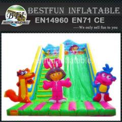 INFLATABLE SLIDE COLORFUL FRIENDS