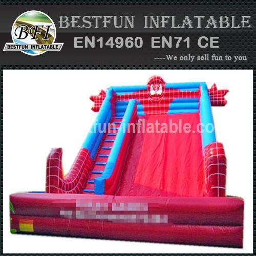 PVC INFLATABLE SLIDE SPIDER MAN