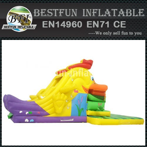 Rooster Eaters Inflatable Slide