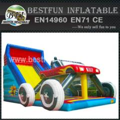 MONSTER TRUCK PVC SLIDE