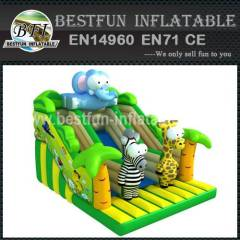 SLIDE FUNNY PETS INFLATABLE