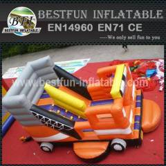 Inflatable slide truck for kids