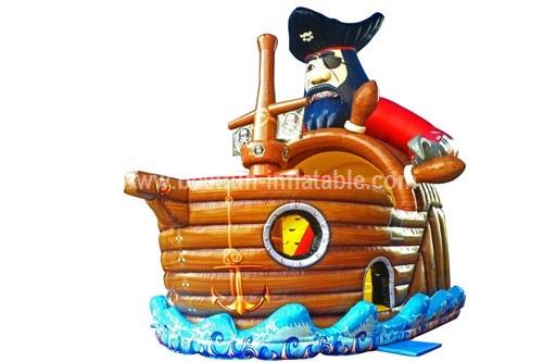 Blackbeard inflatable Pirate Slide