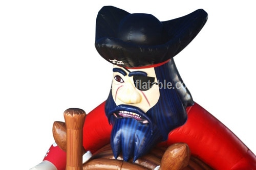 Blackbeard inflatable Pirate Slide