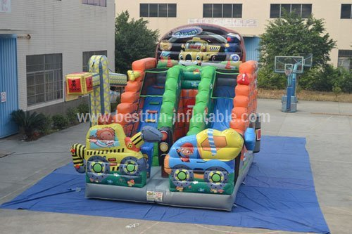 Commercial town inflatable  slide for kids
