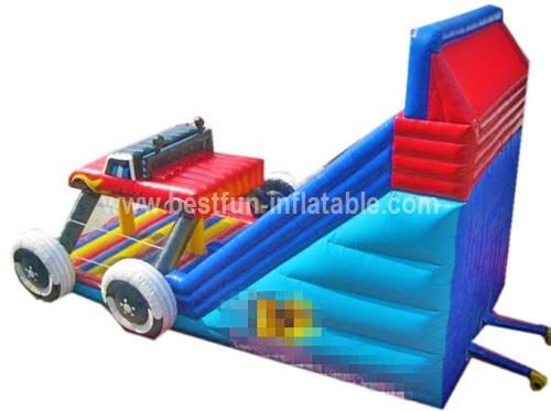 Inflatable Monster Truck Slide