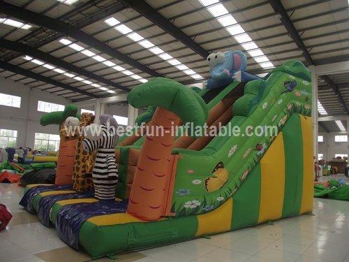 Lovely Pets Big Inflatable Slide