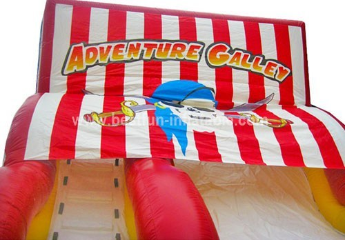 Popular sale adventure pirat ship slide