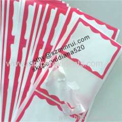 Wholesale factory price broken paper sticker