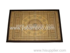 attractive painting bamboo rugs