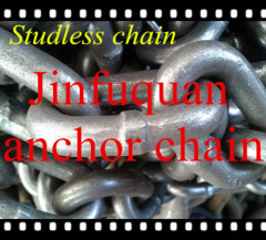 Studless Stud Anchor Chain