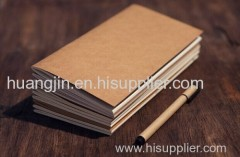 travel diary/hand account/ brown paper note book